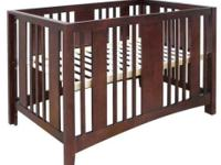 Caramia Elle Crib from Building Blocks Furniture