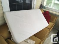 Safety 1st Little Angel Crib Mattress. Barely used.