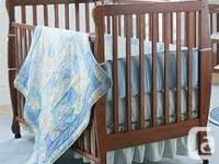 Hi I am selling my 4 in 1 convertible crib, Can go from