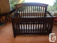good crib, bought for over 800$, just want it gone. its