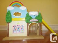 The Calico Critters Rainbow Nursery is the best area