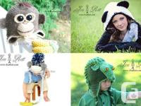 Over 1500+ images Animal hats - Monster Hats - Crochet