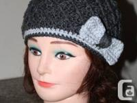 Hand made crochet hats that keep you warm and stylish