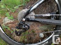 Hey,. I'm offering my girlfriends crosscountry bike. It