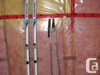 """"""" Splitkeen"""", Made in Norway; Boots for these skis can"""
