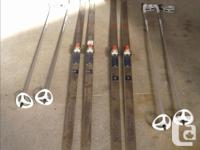 Fischer crown-Men's and Women's cross country skis