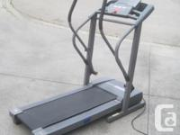 Proform CrossWalk Performance X Treadmill for Sale.