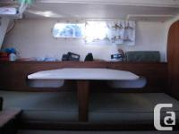 An excellent cruiser or day sailor suitable for novice