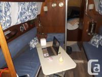 Crown 28 - Oak Bay Sails, 2x genoa, spinnaker & pole,