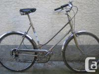 Beauty cruiser This bike, like all the bikes I have for
