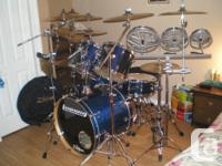 6 Piece Ludwig Accent CS Customized 9 Item with the