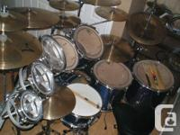6 Piece Ludwig Accent CS Custom 9 Piece with the Roto