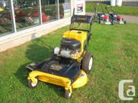 "Cub Cadet 33"" Self-Propelled Electric Start Wide-Cut"