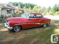 Make Buick Model Roadmaster Year 1953 Colour Red kms