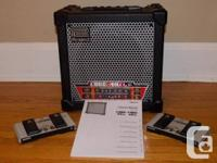 Roland Dice 40XL Amp in superb problem. A 2 channel