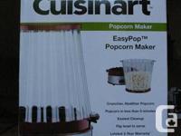 Selling Brand New, Still in box  Cuisinart Easypop