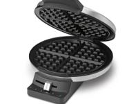 FOR SALE IS A NEW (OPEN BOX) Cuisinart Round Waffle