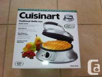 I am selling an unopened, unused Cuisinart Brushed
