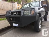 Make Nissan Model Frontier 4WD Year 1998 Colour Black