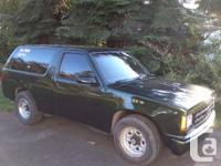 Make Chevrolet Colour Green Trans Manual kms 265738