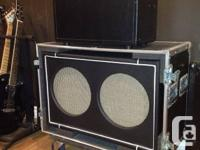 Selling a Custom built cabinet (16 ohms) with 2x12