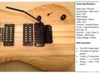 JMZ Custom Built Electric Guitars and Basses  You