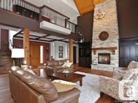 The interior features professional decorating, satin