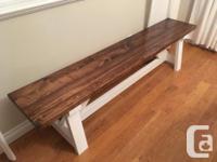 Rustic end tables 24 x 24 x 24 $150 22 x 22 x 24 $150