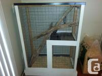 Custom made chinchilla , hamster , hedghog cage with