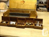 Custom fly fishing kit . Includes a beautiful custom