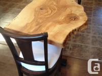 We can custom fabricate live edge or dimensional wood