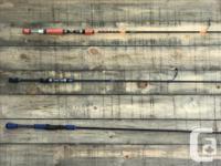 Custom Made High Quality MHX fishing Rods. Descriptions