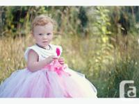 Beautiful handmade by design flower girl or special