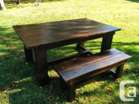 CREATE MEMORIES AT YOUR CUSTOM MADE TABLE WITH YOUR