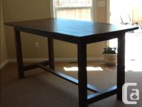 Hello, I custom make dining room tables, benches,