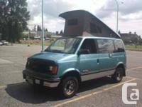 1994 shorty safari/ astro mini van. Professional pop