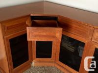 If you have a nice audio system and want a nice cabinet