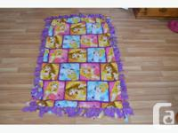Custom Tied Blankets!! Looking for the perfect gift the
