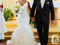 I am offering my Pronovias Galante bridal gown. It is a