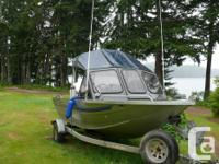 Custom Weld Viper Welded Aluminum Fishing Boat 18' with