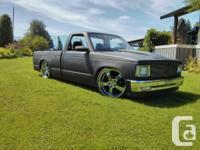 Up for sale is my custom flatblack 89 sonoma, basic