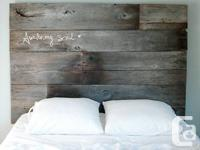 Hello there, I am selling personalized made, rustic