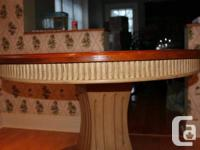 I am selling my wood table which I used as a cooking