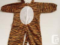 Cute Halloween costume - Tiger - $5  (Richmond)  Cute