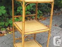 - Photo #1: This cute little plant stand or curio stand