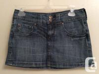 *Cute & stylish denim skirt. *New & perfect condition!