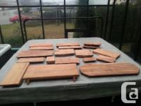 Cutting Boards Tables & Burls Various Sizes Call For