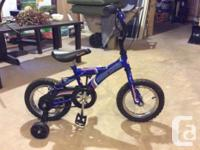 "I have a children's 10"" supercycle moonrider bike for"