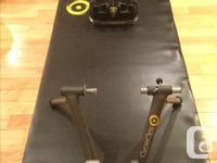 Cycleops Fluid 2 Bike Trainer in excellent