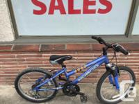 """Used Norco 20"""" kids bike. Great for those 6-8 year olds"""
